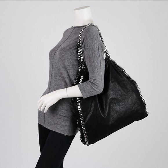748a118f2dd7 Stella McCartney Large Black Falabella- was  1300!  M 5a5167aab7f72bf48a02cbf8